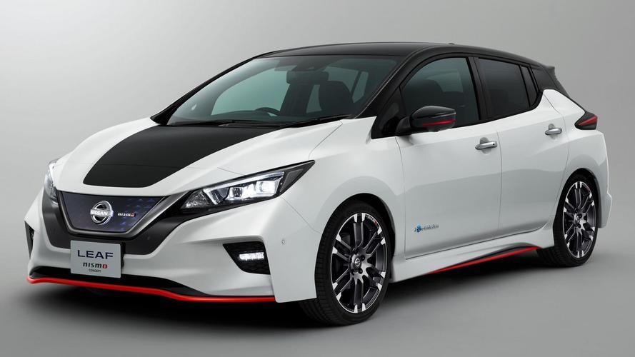 Nissan Leaf Nismo konsepti tanıtıldı