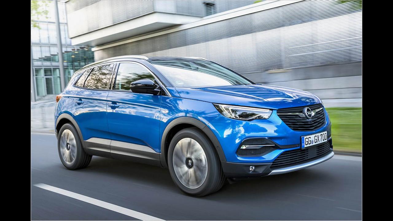 Opel Grandland X: 23.700 Euro