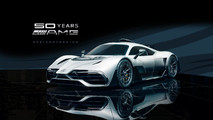 Mercedes-AMG Project One Rendering