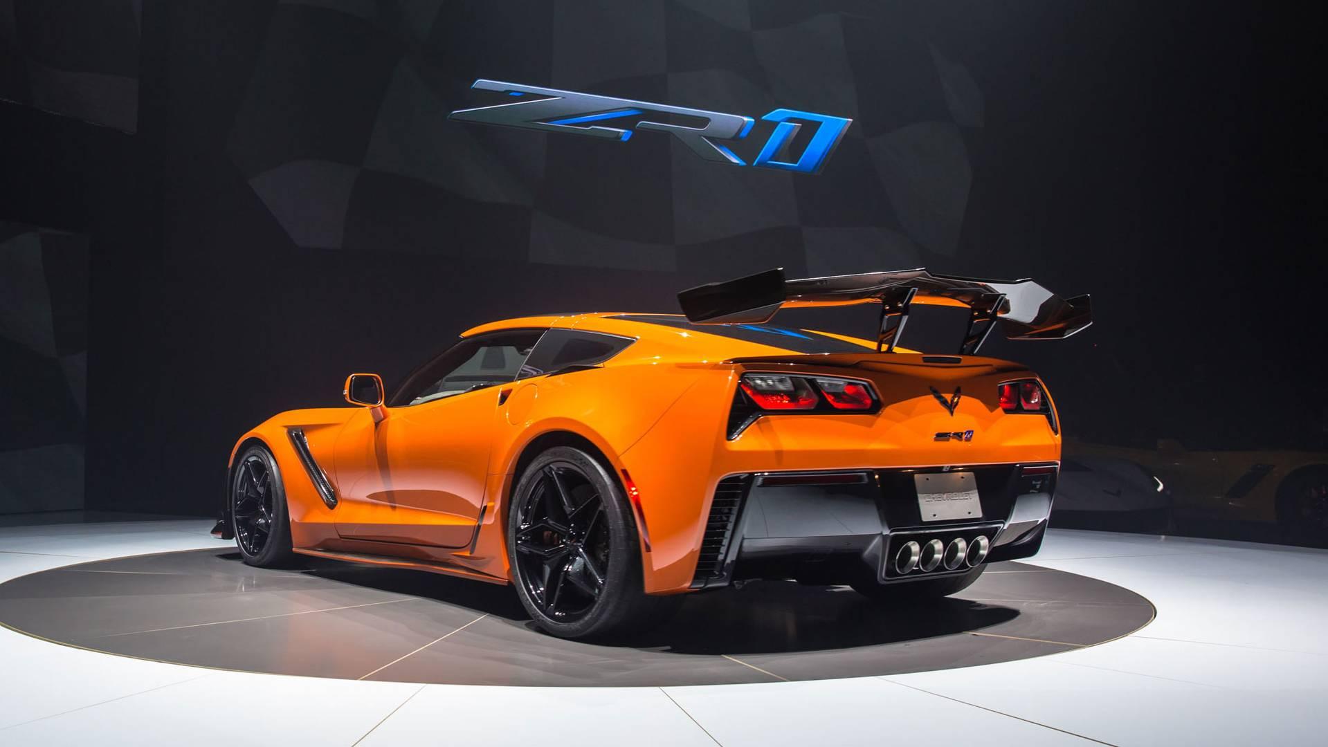 2019 chevy corvette zr1 debuts with 755 horsepower. Black Bedroom Furniture Sets. Home Design Ideas