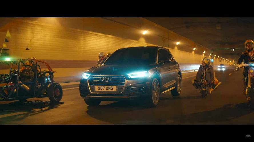 Audi Unleashes Creepy Clowns In Bonkers Safety Vid
