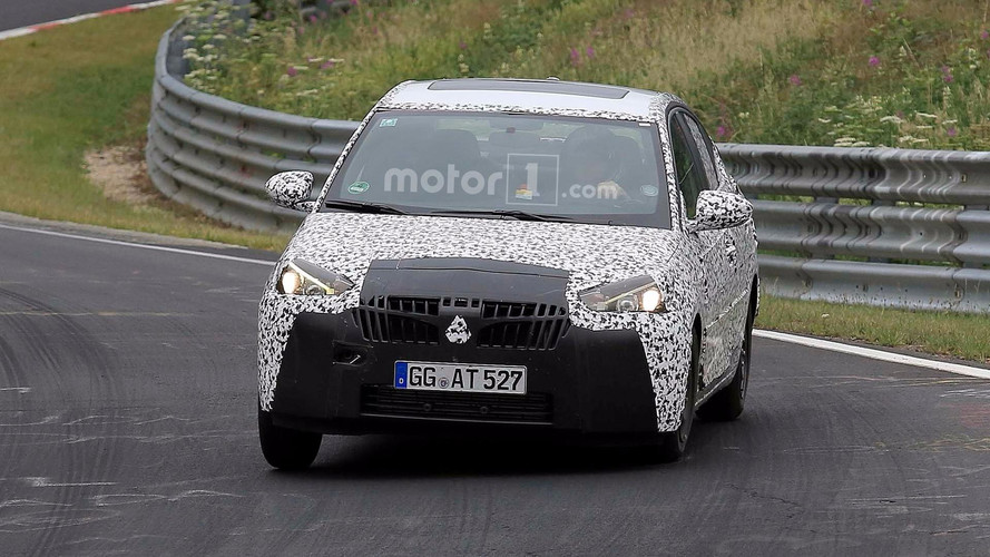 Opel Corsa Sedan Spy Photos At Nurburgring