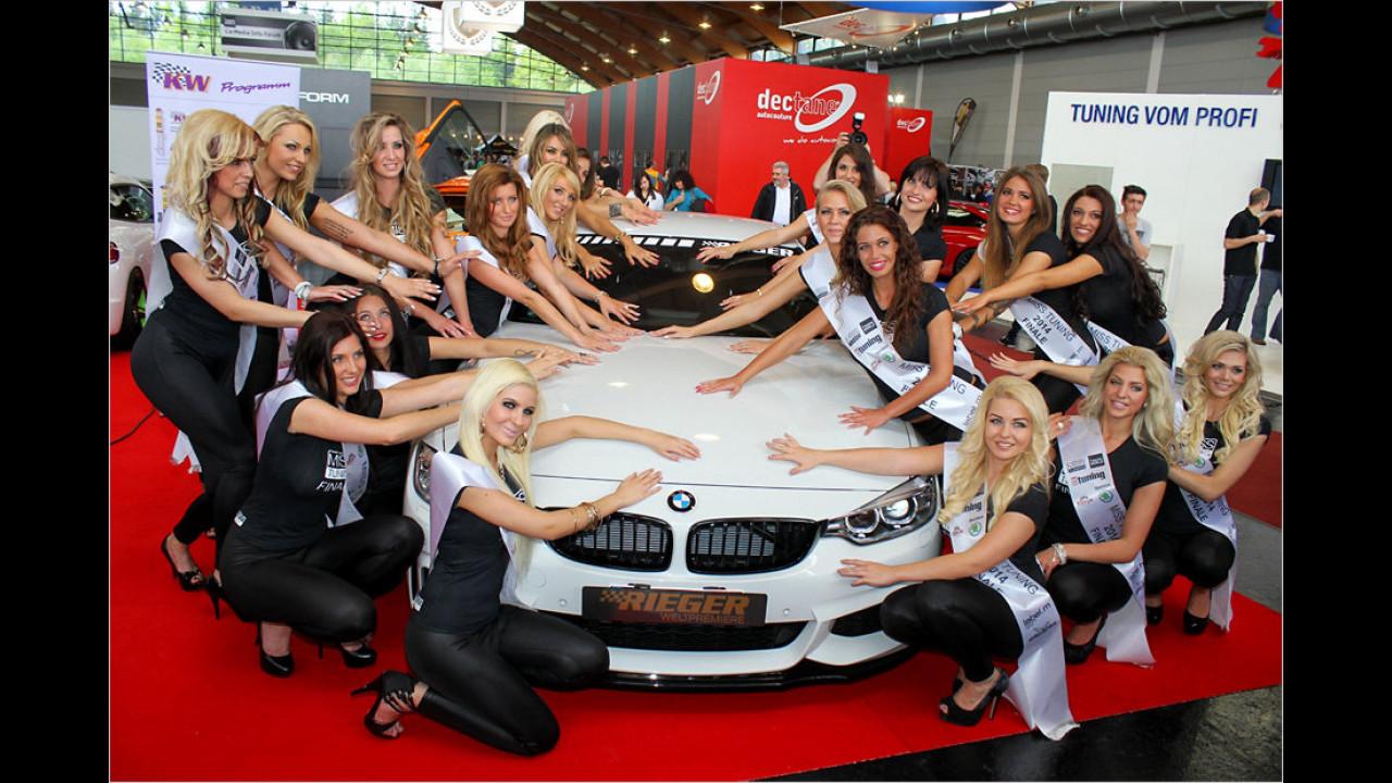 Rieger BMW 4er Coupé noch mehr aufgewertet
