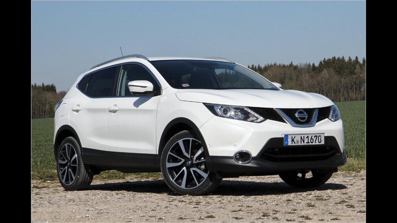 Kleine SUVs: Nissan Qashqai