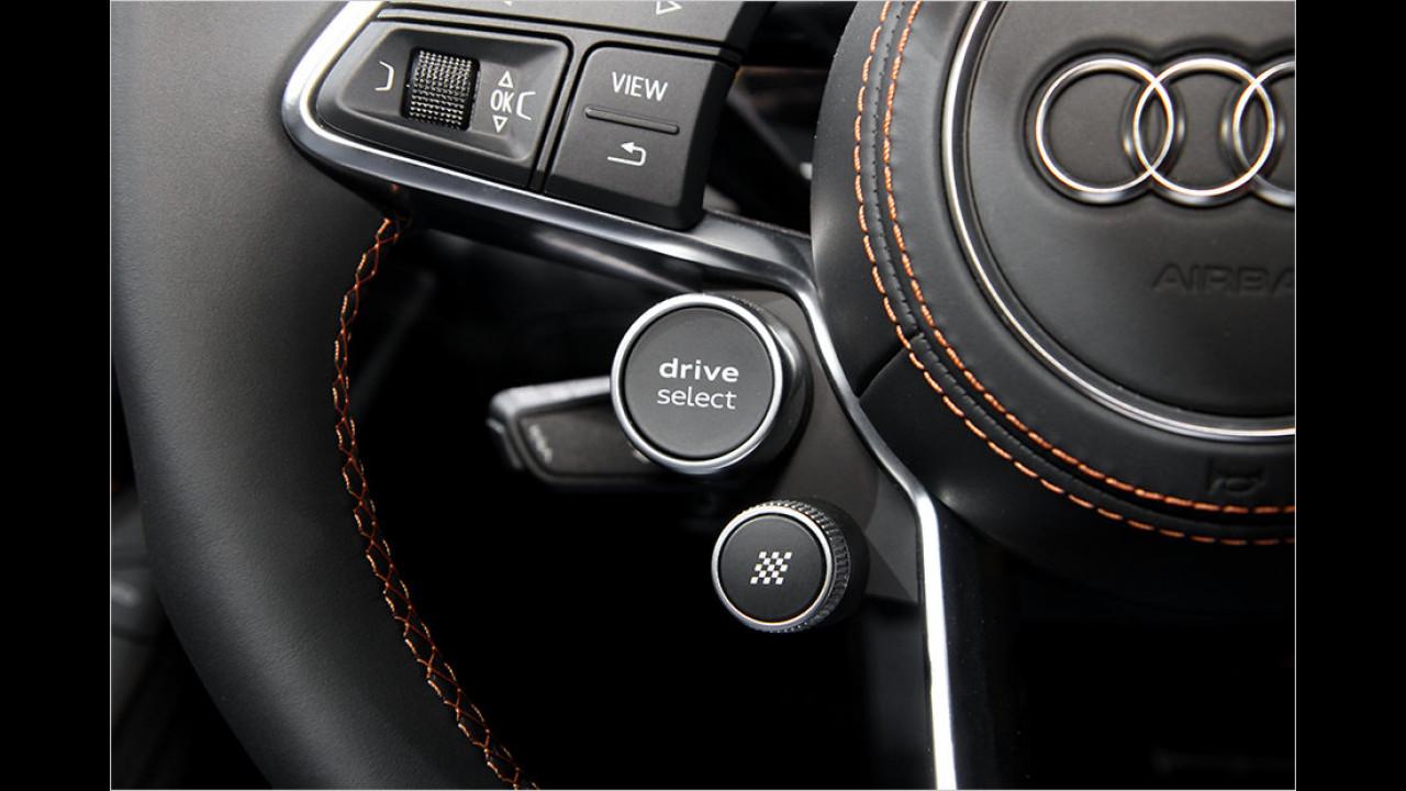 Genf 2015: Sitzprobe im Audi R8