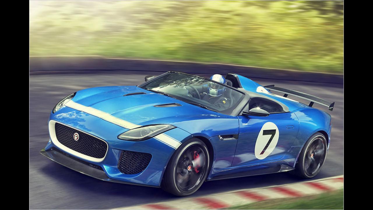 Jaguar-Studie in Goodwood