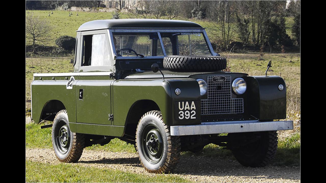 Land Rover Series II (1958 bis 1961)