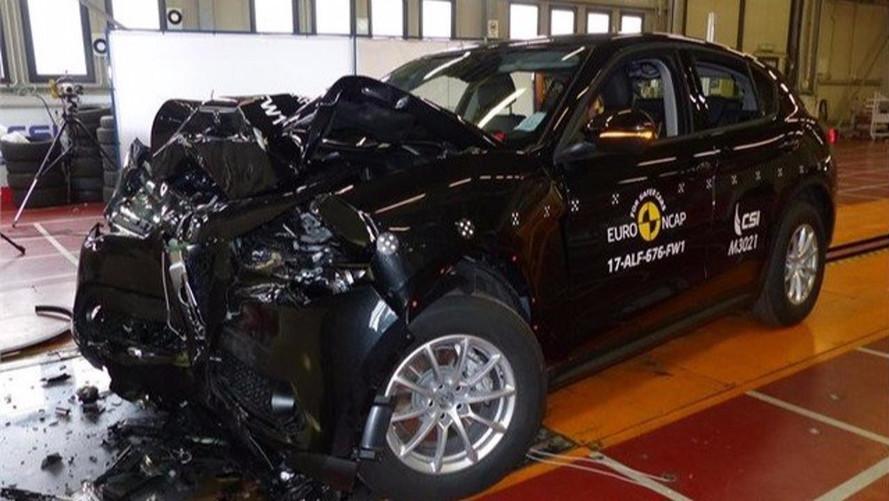 Crash-test réussi pour l'Alfa Romeo Stelvio