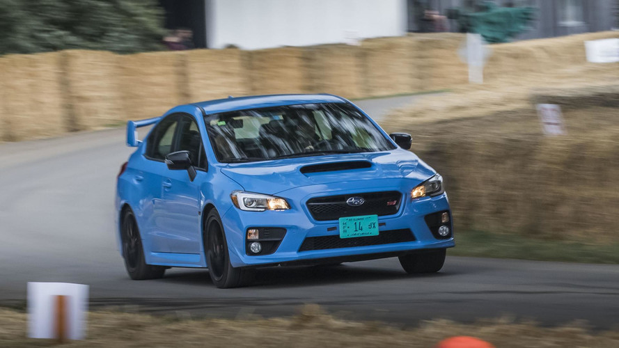 I Ran A Subaru Up The Hill At Goodwood