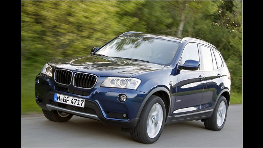 BMW X3: Neue Motoren ab Herbst 2011