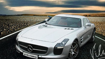 Vilner  updates the Mercedes SLS AMG