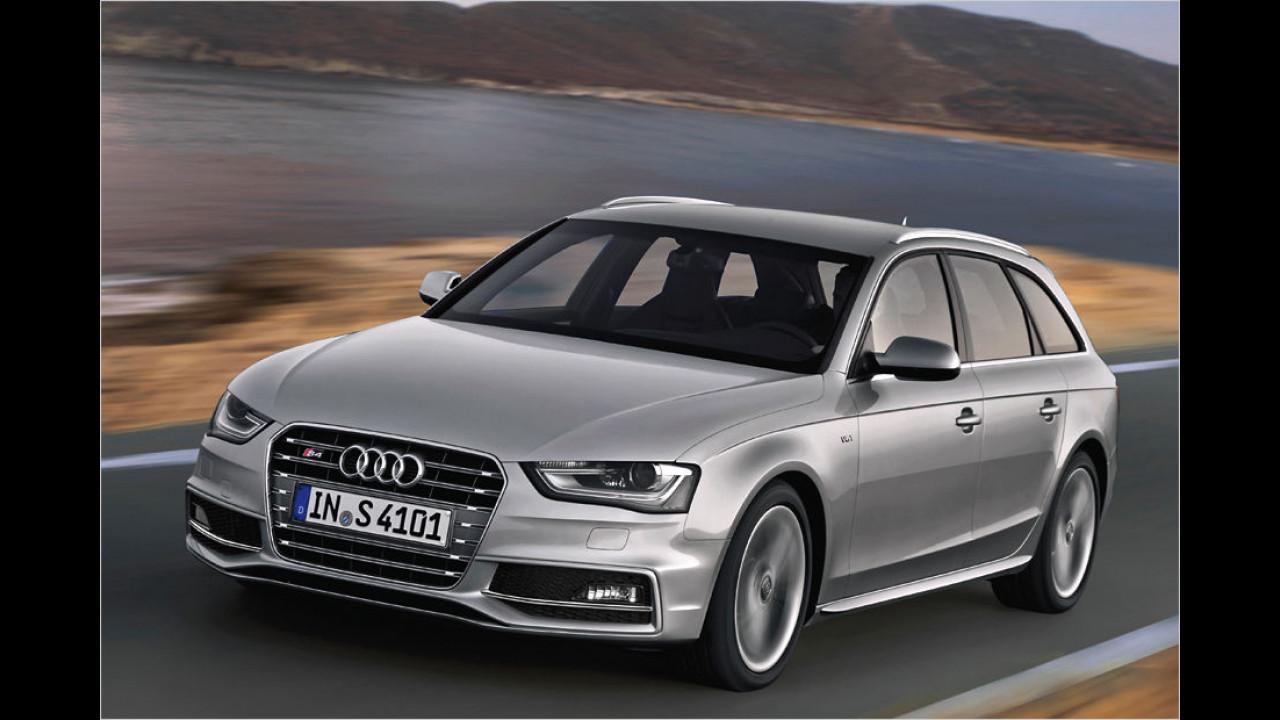 Platz acht: Audi S4 Avant