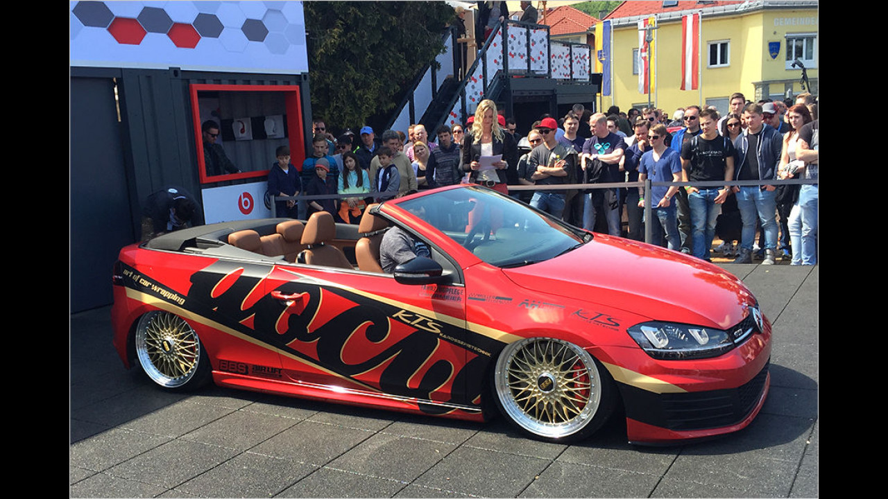 Ein Fan hat sich aus einem Golf VI ein Cabrio in Golf-VII-Optik gebaut. Volkswagen: Bitte nachmachen und in Serie!