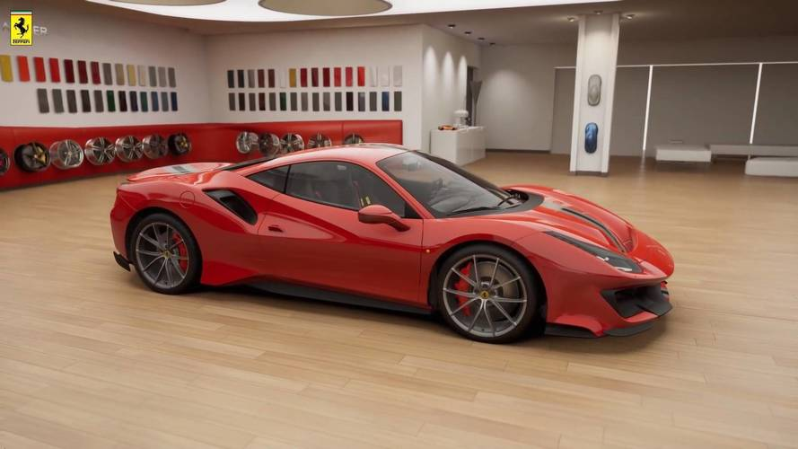 Ferrari 488 Pista Leaks Out To Reveal Its Aggressive Body