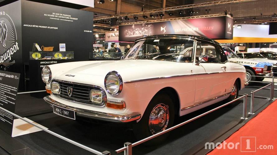 Peugeot au Salon Rétromobile 2018