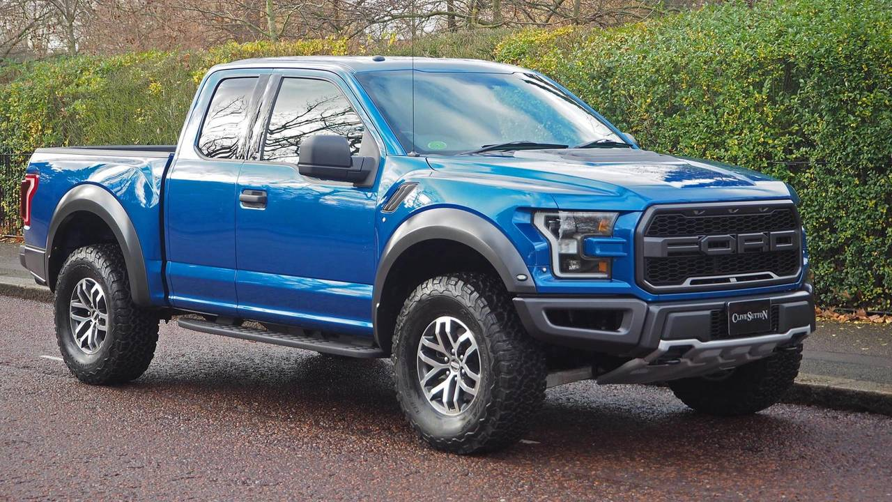 Ford F-150 Raptor RHD - Clive Sutton (1)