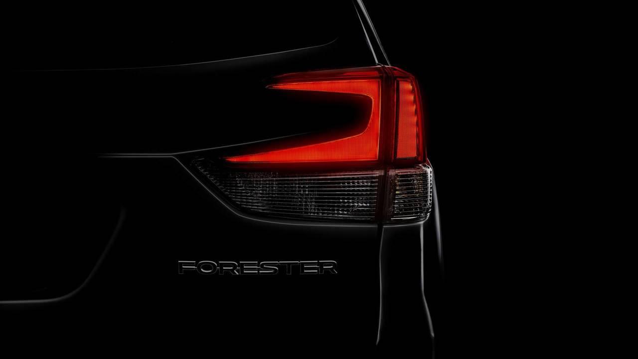 2019 Subaru Forester teaser