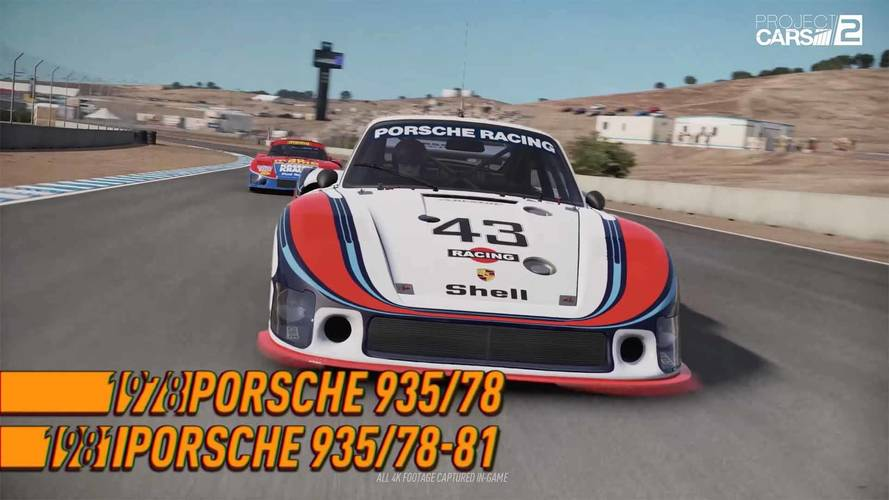 Project Cars 2 Expansion Adds 8 Classic Porsches, 1 Modern Racer