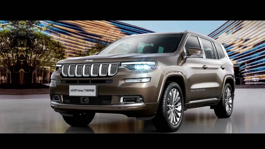 Jeep Grand Commander First Official Images Released