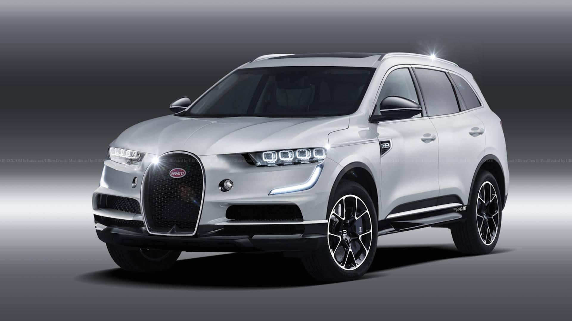 Suv >> Bugatti Suv Rendering Previews The Inevitable