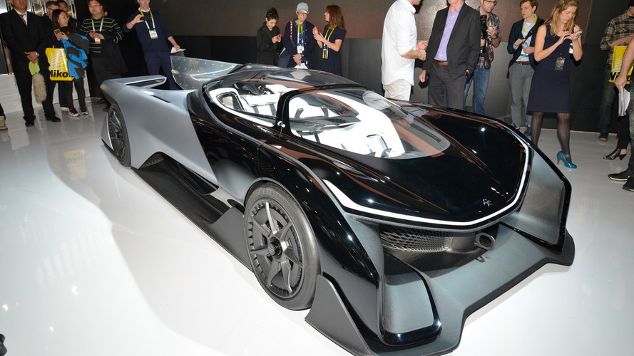 Faraday Future FFZERO1 visits CES to show Batmobile styling