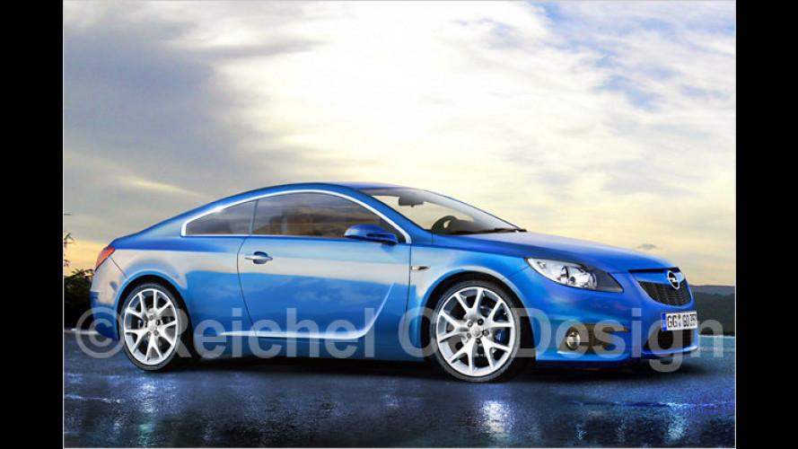 Opel-Calibra-Nachfolger: Ausblick aufs sportliche Coupé