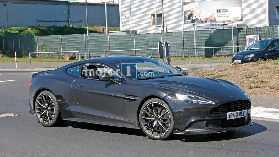 Aston Martin Vanquish S Spy Photos