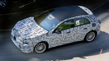2018 Mercedes A-Serisi casus fotoğrafları görücüye çıktı