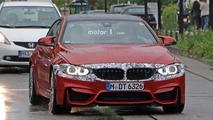 Makyajlanmış BMW M4 casus fotoğrafları