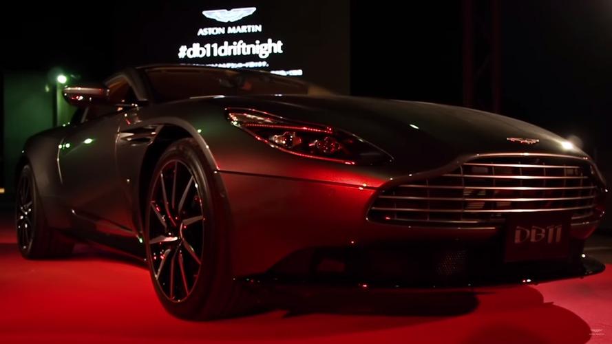 Aston Martin DB11 Osaka lansmanında boy gösterdi