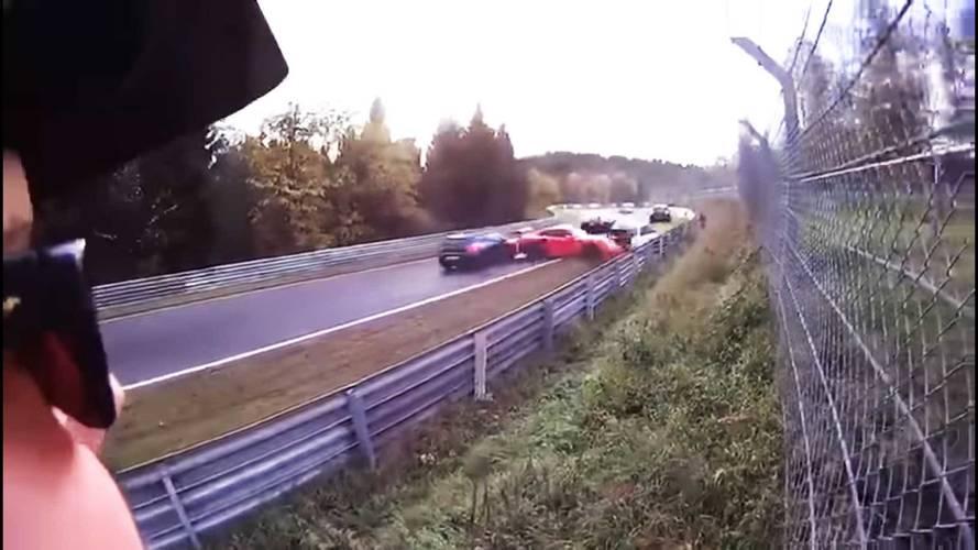 Watching This Massive Nürburgring Pileup Is An Utter Nightmare