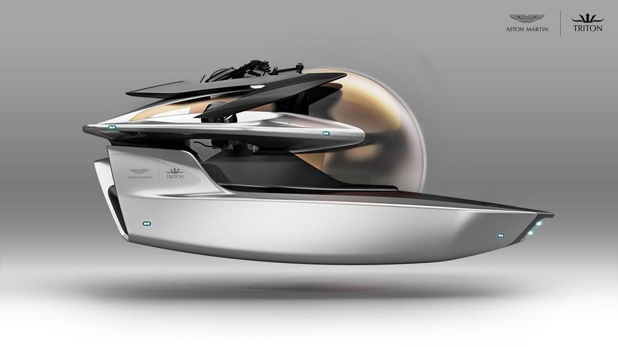 Aston Martin, Project Neptune denizaltısı ile şaşırttı
