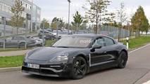 2020 Porsche Mission E spy photo