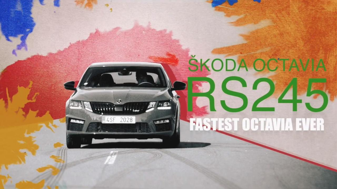 Skoda Octavia Drift Painting