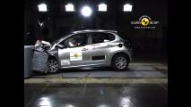 Crash test Peugeot 208