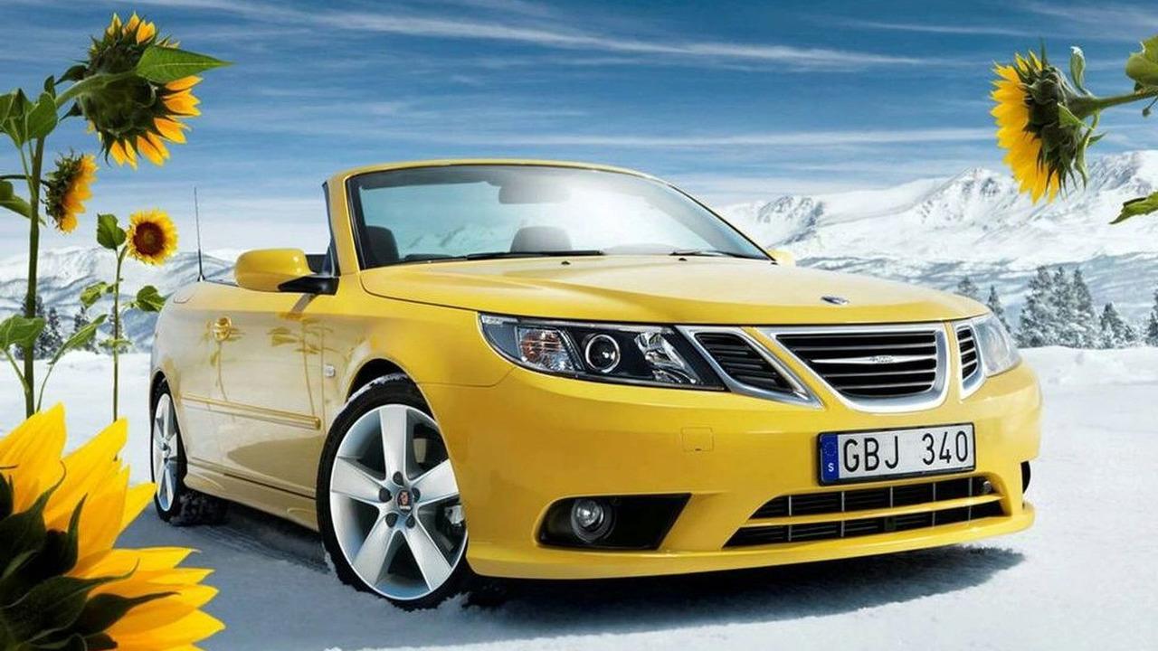 2008 Saab 9-3 Convertible Yellow Edition