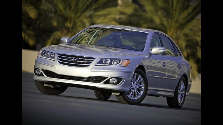 Hyundai divulga novas imagens do Azera 2011 - Veja galeria de fotos em alta resolução