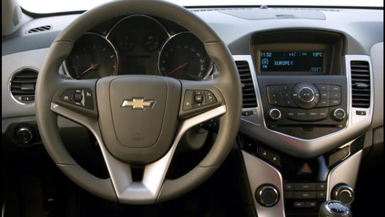"""Chevrolet Cruze é eleito """"Carro Urbano do Ano"""" nos Estados Unidos"""