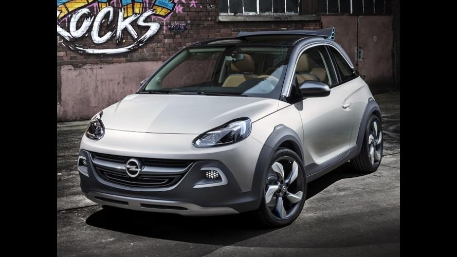 Opel Adam ganhará versão aventureira na Europa em 2014