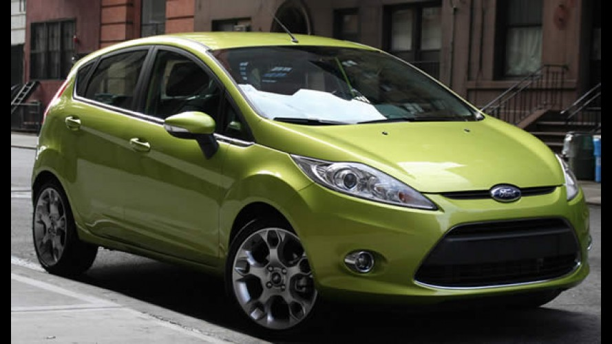 Reino Unido: Fiesta foi o mais vendido em 2010