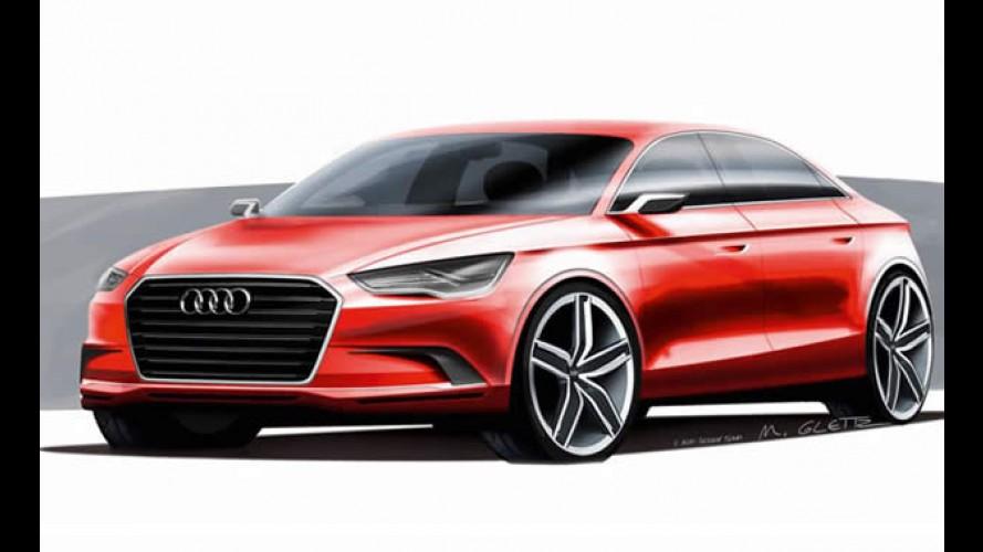 Audi divulga desenhos do A3 Sedan