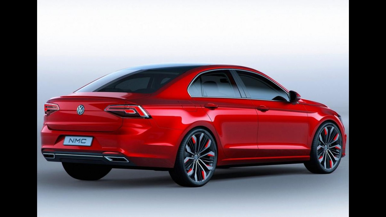 Nova geração do VW Jetta poderá ter quatro opções de carroceria