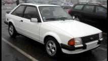 Carros para sempre: Escort XR3 era sonho de consumo dos anos 1980