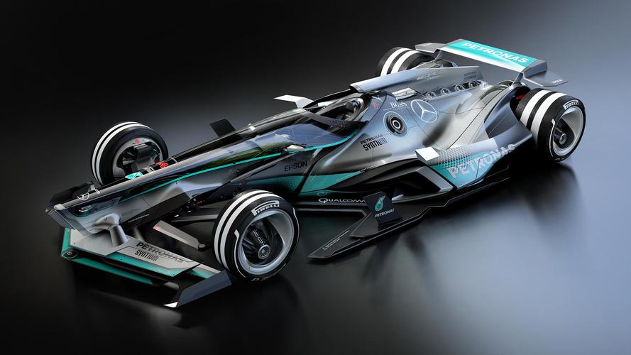 Mercedes F1 2030 fantasy design