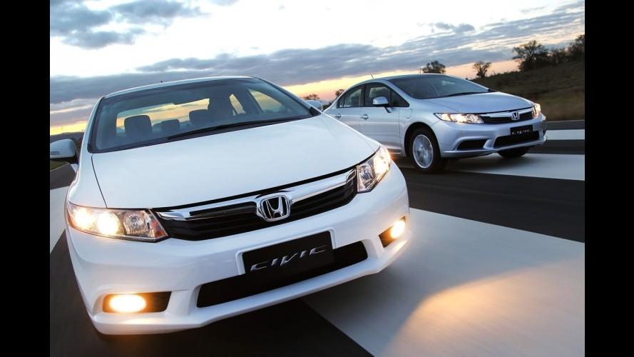 Parciais de outubro: Honda Civic dispara e VW Gol segue reinando