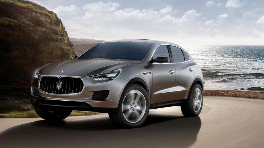 2015 Maserati Levante comes into focus
