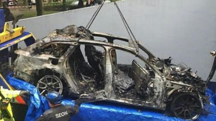 Audi RS6 DTM formerly owned by Jon Olsson stolen and burned to the ground