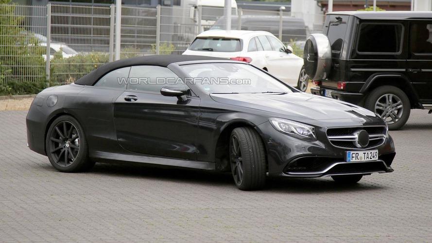 Mercedes S63 AMG Cabrio returns in new spy photos