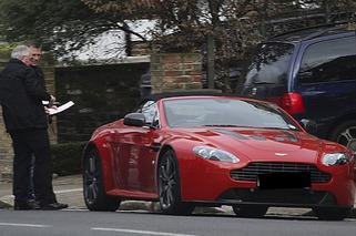 Daniel Craig Picks Up Aston Martin V12 Vantage B-Day Present