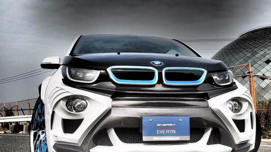 Eve Ryn radically restyles BMW i3
